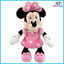 """Disney Minnie Mouse Pink 9 1/4"""" Plush Doll Toy brand new with tags"""