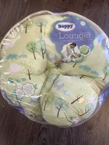 Boppy Pillow Lounger Green Pottery Barn Kids Sunday Stroll Minimally Used Clean