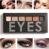 Focallure 6 Colors Shimmer Matte Smoky Eyeshadow Palette Natural Eye Shadow Set