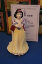 Royal Doulton Blancanieves SW 1 edición limitada de 60 años de estatuilla MIB Disney