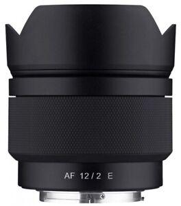 Samyang AF 12mm f2,0 Sony E-Mount Samyang Objektive für Sony E Objektive