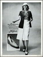 1976 Anne Klein American classics clothing model higbees photo print Ad adl31