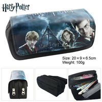 Harry Potter Pencil Case make up bag school Birthday Gift