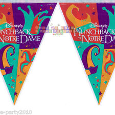 HUNCHBACK OF NOTRE DAME FLAG BANNER ~ Birthday Party Supplies Decorations Room