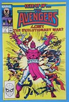 WHAT IF...? #1 Avengers Lost The Evolutionary War? Marvel Comics 1991
