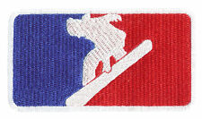 "A ""Pack of 10"" Major League Snowboarding Patch Great For Team or League Shirt or"