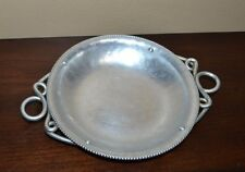 B.W. BUENILUM Hammered Aluminum Dish with Handles Candy Dish Butter Dish
