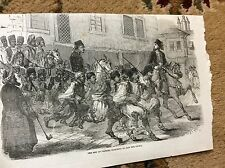 m4-7 ephemera 1849 picture bey of pristina marching to meet the pacha