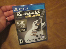 Rocksmith 2014 Edition Remastered PS4 Sony 2016 NEW SEALED ( NO REAL TONE CABLE)