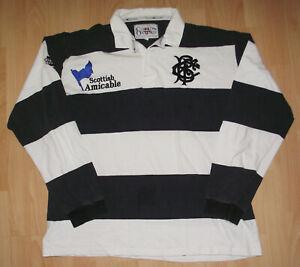 Rare Cotton Oxford 2001 Barbarians Rugby Shirt XL/XXL