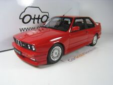 BMW M3 E30 1989 1/18 OTTO MOBILE (ROUGE)