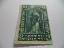 (183) 1 DOLLAR GREEN DOCUMENTARY STAMP VERY NICE STAMP