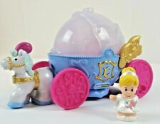 Fisher Price Little People Cinderella Coach Carriage Disney. Plays music.