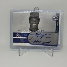 SAMMY SOSA 2003 SP Authentic Chirography AUTO with Inscription  /50 Rare