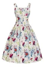 Lady Vintage Retro Floral Tea Dress Rockabilly Pin-Up BNWT