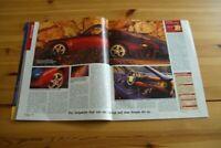 Autozeitung 20313) Wahnsinn! Porsche 911 993 Targa mit 285PS im Fahrbericht in