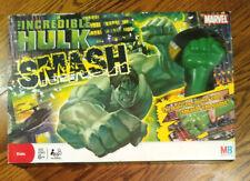 Milton Bradley Incredible Hulk Smash Board Game Marvel