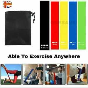 Resistance Bands Exercise Sports Loop Fitness Home Gym Yoga Latex Singles Sets