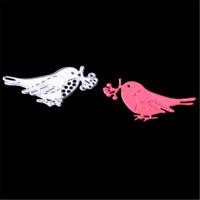 Stanzschablone Vogel Blume Weihnachten Neujahr Hochzeit Karte Album Deko DIY