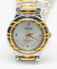 Lucien Piccard Arnex Lindenwold Mujer Oro/Plata Cuarzo Reloj Acero Inoxidable