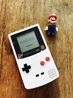 Nintendo GameBoy Color - Refurbished Colour Game Boy Handheld GBC Mario White