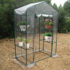 serre mini cottage copertura piante giardinaggio  PVC Greenhouse 143x73x195cm