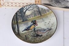 "Knowles Collector Plate- Bart Jerner "" The Wood Duck"" - 1987"