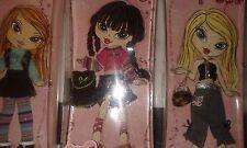 Bratz Kidz Party, Winter and school Time Fashion pack Lot of 3 Cloe Jade Yasmin