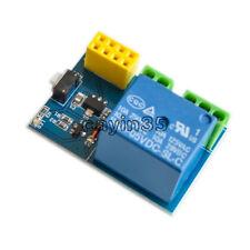 Hazlo tú mismo ESP8266 ESP-01S 5 V Módulo de Relé Interruptor Remoto aplicación de teléfono Reino Unido