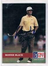 1992 Pro Set #76 Ronnie Black NM MT Auto