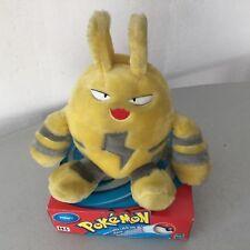 """2000#Vintage Nintendo Hasbro 7"""" Elekid Pokemon Plush Hasbro#NOC"""