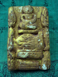 Phra Somdej Toh Wat Phra Kaew Gem Talisman Jewelry Thai Buddha Amulet