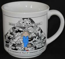 Recycled Paper Products ~ Behind Every Working Woman ~ Cup Mug by Dale Humorous