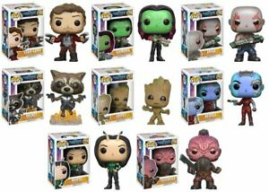 MARVEL GUARDIANS OF THE GALAXY -  POP FIGURE 13 DESIGNS TO CHOOSE FROM - FUNKO