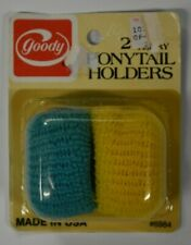 Vintage 1970s NOS Goody 2 Terry Stretch Ponytail Holders Scrunchies 1975