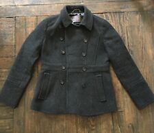 J Crew Grey Stadium Coat Size 6