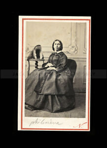 1860s CDV photo by Famous Photographer Nadar - Royalty or Celebrity