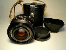 M42 Carl Zeiss Jena Flektogon MC 2,4/35 with Lens Hood MINT Condition f2.4 35mm