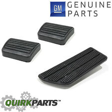 OEM NEW Gas Clutch & Brake Pedal Pad Rubber Cover Set C/K Series Manual Trans