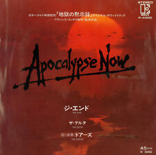 "The Doors Apocalypse Now The End b/ Delta 1979 EP 7"" 45rpm Japan rare vinyl (nm)"