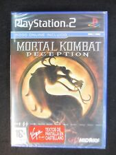 Mortal Kombat:Deception para playstation 2  Nuevo y precintado PAL