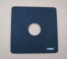 Toyo monorraíl 5x4 10x8 Lensboard Panel Para Copal Compur 1 41.7 mm