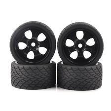 RC 4Pcs 17mm Hex 1:8 Bigfoot Monster Truck Tires&Wheel for HSP TRAXXAS Model Car