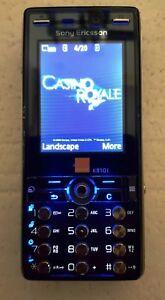 SONY ERICSSON K810i JAMES BOND PHONE-UNLOCKED WITH NEW CHARGAR,BATTARY &WARRANTY