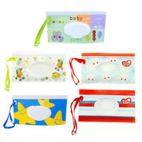 Clean Wipes Carrying Case Wet Wipes Bag Cosmetic Pouch Snap-strap NTHN