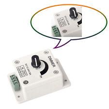 Interruptor DIMMER Brillo Controlador de Ahorro de Energía 12V 24V 8A para Tira de LED RD143
