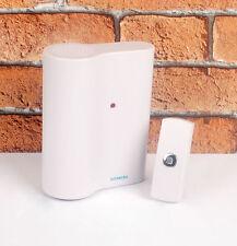 Siemens Ciao Wirefree Door Bell Chime Kit 100 Metre Wireless DCWF21 RRP £39.98