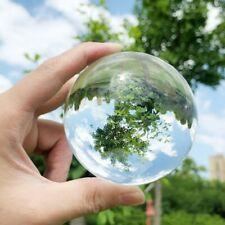 100mm K9 Crystal Glass Quartz Ball Magic Photographic Sphere Healing LensBall US