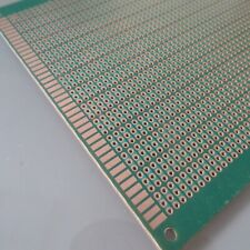 3stk pcb 12x12cm 3er joint Löcher Streifenraster Lochraster Platine Leiterplatte