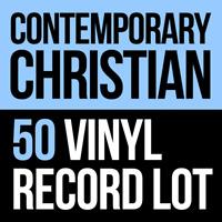 50 CHRISTIAN LP VINYL RECORDS CCM Assorted Christian music Harvest Glad Etc